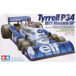 Tamiya 20053 1/20 Maquette Tyrrell P34 1977 Monaco GP