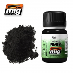 AMMO OF MIG A.MIG-3001 Pigment Noir 35ml