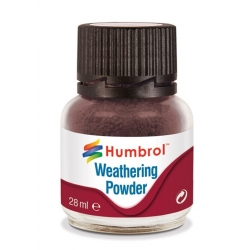 HUMBROL AV0007 Pigments Terre Foncée - Weathering Powder Dark Earth 28ml