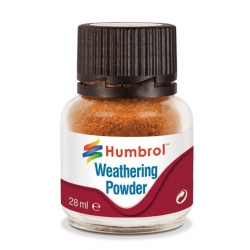 HUMBROL AV0008 Pigments Rouille - Weathering Powder Rust 28ml