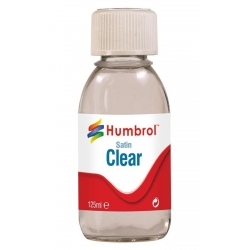 HUMBROL AC7435 Vernis Satiné - Clear Satin Varnish 125ml