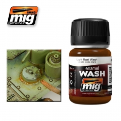 AMMO OF MIG A.MIG-1004 Lavis Rouille Clair – Wash 35ml
