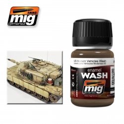 AMMO OF MIG A.MIG-1007 Lavis Véhicules Modernes US – Wash 35ml