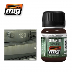 AMMO OF MIG A.MIG-1202 Salissures Pour Panzer Gris - Streaking Grime35ml