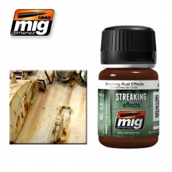 AMMO OF MIG A.MIG-1204 Usure Effet Rouille – Streaking 35ml