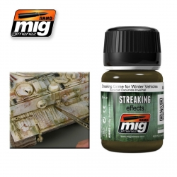 AMMO OF MIG A.MIG-1205 Salissures Pour Véhicules d'Hiver – Streaking Grime 35ml