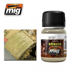 AMMO OF MIG A.MIG-1401 Nature Effects Poussière Claire 35ml