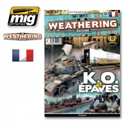 AMMO OF MIG The Weathering Magazine 9 K.O. et Epaves Français