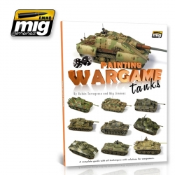 AMMO OF MIG A.MIG-6003 Painting Wargame Tanks (English)