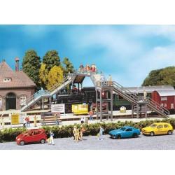 Preiser 10341 Figurines HO 1/87 Policiers français en tenue d'été