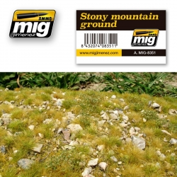 AMMO OF MIG A.MIG-8351 Grass Mat Stony Mountain Ground