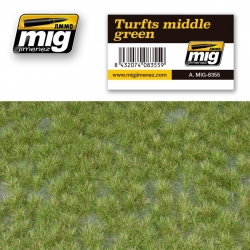 AMMO OF MIG A.MIG-8355 Grass Mat Turfs Middle Green