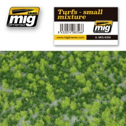 AMMO OF MIG A.MIG-8356 Grass Mat Turfs – Small Mixture