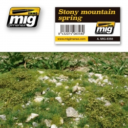 AMMO OF MIG A.MIG-8358 Grass Mat Stony Mountain – Spring
