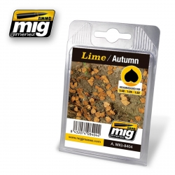 AMMO OF MIG A.MIG-8404 Leaves Lime – Autumn