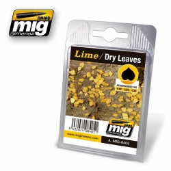 AMMO OF MIG A.MIG-8405 Leaves lime – Dry Leaves