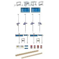 Preiser 14403 Figurines HO 1/87 Equipe de poseurs de voie, 24 figurines