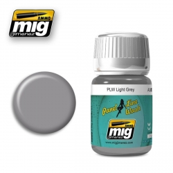 AMMO BY MIG A.MIG-1600 Lavis Panel Line Wash Gris Clair – Light Grey Wash 35ml