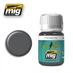 AMMO OF MIG A.MIG-1602 Lavis PLW Gris Profond – Deep Grey Wash 35ml
