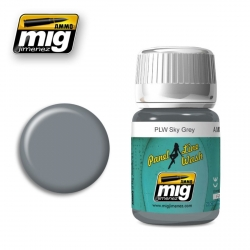 AMMO BY MIG A.MIG-1607 Lavis Panel Line Wash Gris Ciel – Sky Grey 35ml