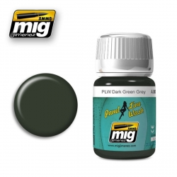 AMMO BY MIG A.MIG-1608 Lavis Panel Line Wash Vert Gris Foncé – Dark Green Grey Wash 35ml