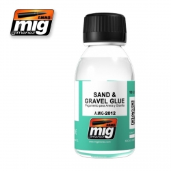 AMMO OF MIG A.MIG-2012 Colle Sable et Graviers – Sand & Gravel Glue 100ml