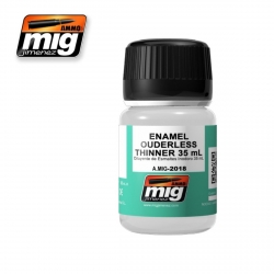 AMMO OF MIG A.MIG-2018 Thinner Enamel Sans Odeurs – Thinner Ouderless 35ml