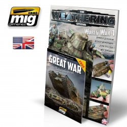 AMMO OF MIG A.MIG-6011 The Weathering Magazine Special WWI English