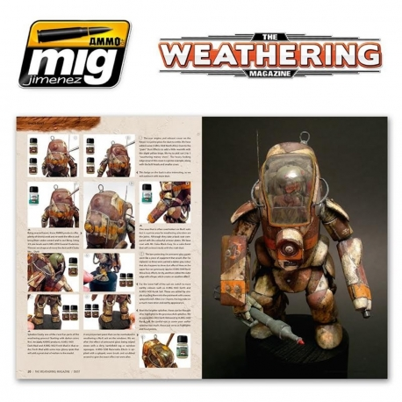 AMMO OF MIG A.MIG-4501 The Weathering Magazine 2 Dust English