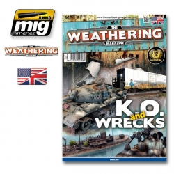 AMMO OF MIG A.MIG-4508 The Weathering Magazine 9 K.O. And Wrecks English