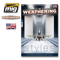 AMMO OF MIG A.MIG-4511 The Weathering Magazine 12 Styles English