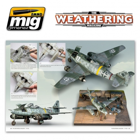 AMMO OF MIG A.MIG-4261 The Weathering Magazine 12 Styles Français