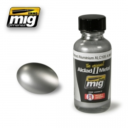 AMMO OF MIG A.MIG-8204 Laque Alu Poli ALC105 – Polished Alu Lacquer 30ml
