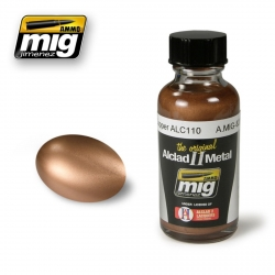 AMMO OF MIG A.MIG-8207 Laque Cuivre ALC110 – Copper Lacquer 30ml
