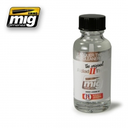 AMMO OF MIG A.MIG-8200 Thinner And Cleaner ALC307 Lacquer 30ml ALCLAD II