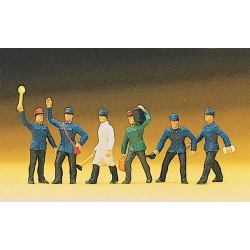 Preiser 10010 Figurines HO 1/87 Cheminots - Railway Personnel