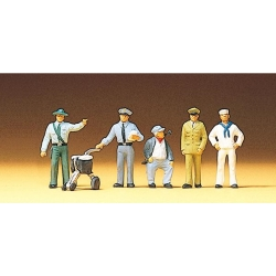 Preiser 10014 Figurines HO 1/87 Professions diverses - Different Professions