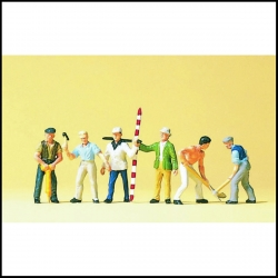 Preiser 10030 Figurines HO 1/87 Travaux publics - Road Workers