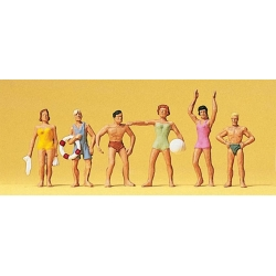 Preiser 10070 Figurines HO 1/87 Baigneurs - Bathing Persons