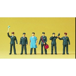 Preiser 10087 Figurines HO 1/87 Swiss railway personnel