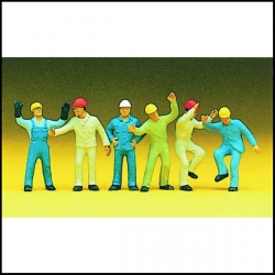 Preiser 10105 Figurines HO 1/87 Ouvirers Industriels - Steeplejacks