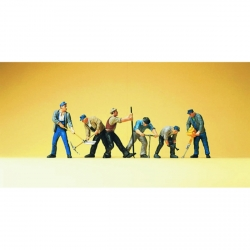 Preiser 10418 Figurines HO 1/87