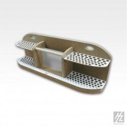 SCALEXTRIC C8239 4 Bordures Extérieures Courbes R2 22.5