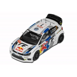 SCALEXTRIC C3524 Volkswagen Polo WRC Monte Carlo Rally 2013