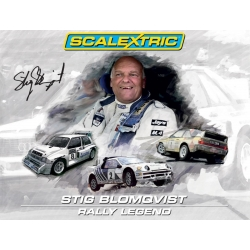 SCALEXTRIC C3372A Box Stig Blomqvist Rally Legend - Limited Edition