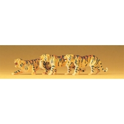 Preiser 20380 Figurines HO 1/87 Tigres - Tigers