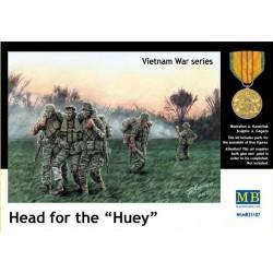 Preiser 35022 Figurines HO 1/87 Pompiers - Camion Mercedes-Benz 1222 LF16