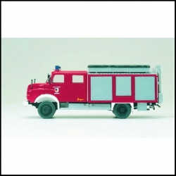 Preiser 31302 Figurines HO 1/87 Rescue and Oil Quipment Truck MAN 11.168