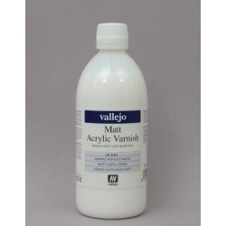 VALLEJO 28.518 Vernis Acrylique Mat – Acrylic Varnish Matt 500ml