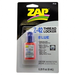 ZAP PT42 Colle Écrous - Thread Locker 6ml